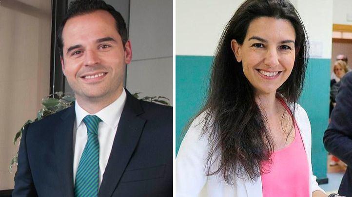 Los candidatos de Cs y Vox a la Presidencia de Madrid, Ignacio Aguado y Rocío Monasterio