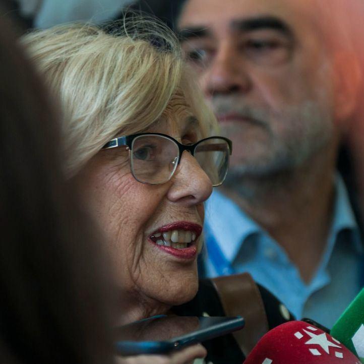 La alcaldesa en funciones ha asegurado que dejará su acta el día 17 de junio si PP, Cs y Vox alcanzan un acuerdo en el Ayuntamiento de Madrid.