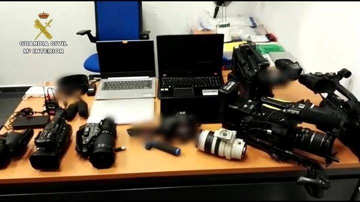 Cámaras, portátiles y móviles robados a los medios de comunicación en la final de la Champions League en el Wanda.