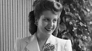 La exprimera dama argentina Evita Perón.