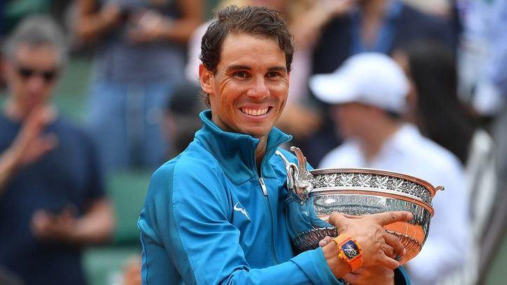 Nada gana su 12 Roland Garros