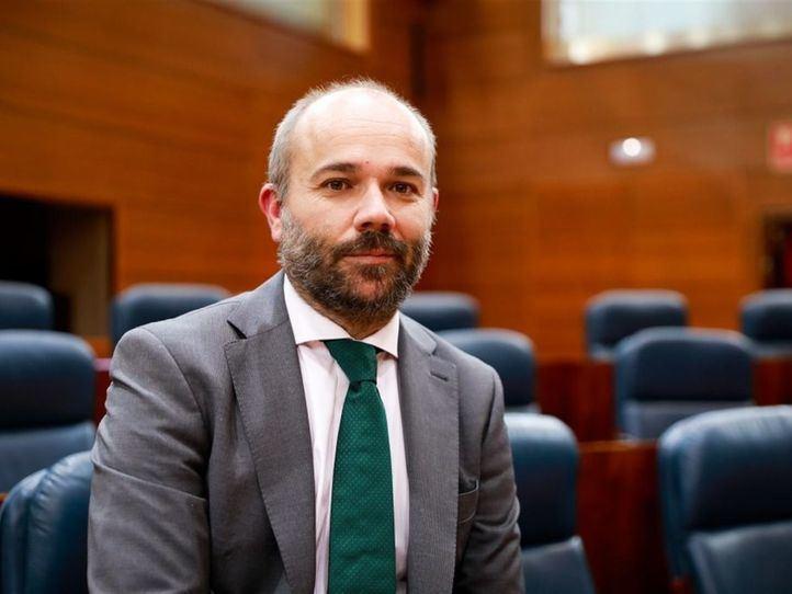 El diputado madrileño Juan Trinidad (Ciudadanos)