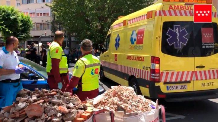 Muere una mujer atropellada por un dumper en Alcalá