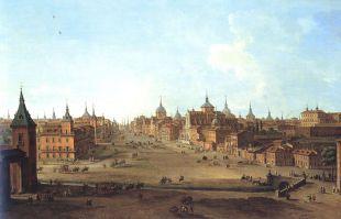 El Madrid Central del siglo XVIII