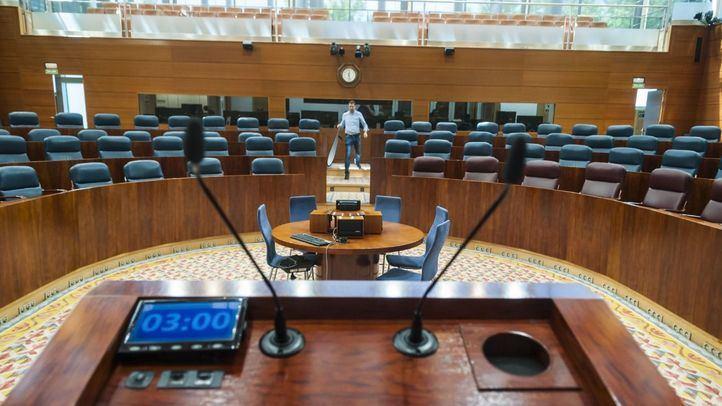 Últimos preparativos para la constitución de la Asamblea de Madrid.