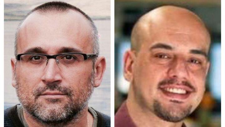 Ferran Boiza, redactor jefe de Madrid en El Mundo; y Carlos Hidalgo, redactor jefe de Madrid en ABC.