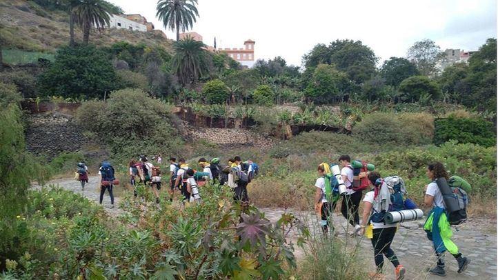 Dos madrileños, entre los 45 universitarios que recorrerán Canarias con BBVA y el proyecto Ruta Siete