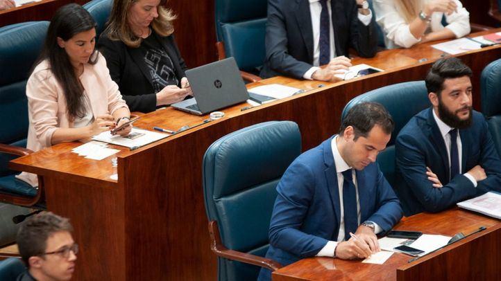 Así les hemos contado en directo la constitución de la Asamblea de Madrid