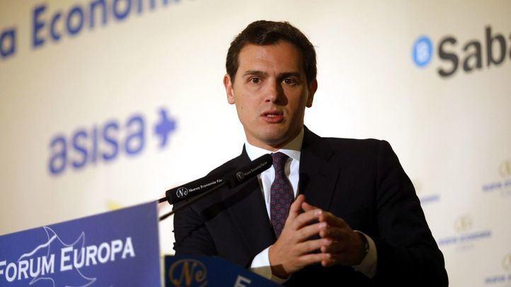 El presidente de Ciudadanos, Albert Rivera, ha afirmado que su partido no firmará ningún acuerdo para que Vox entre en el futuro Gobierno de la Comunidad de Madrid.