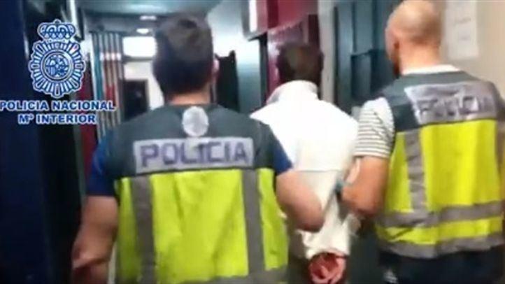 El asesino de Aranjuez, custodiado por la Policía Nacional.