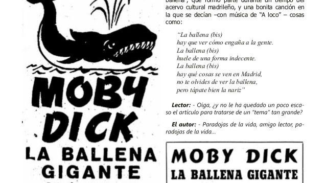 Anuncio de Moby Dick
