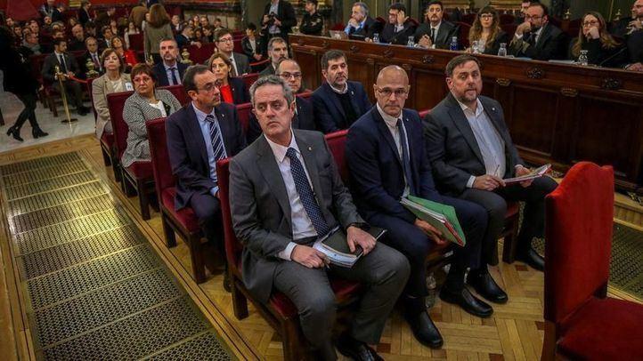 Los acusados reclaman que el conflicto catalán
