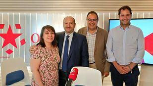 Ignacio Vázquez, alcalde de Torrejón de Ardoz, y Santiago LLorente, alcalde de Leganés, en Com.Permiso