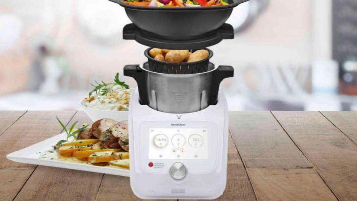 El robot de cocina Monsieur Cuisine.