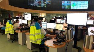 Centro de atención del 112