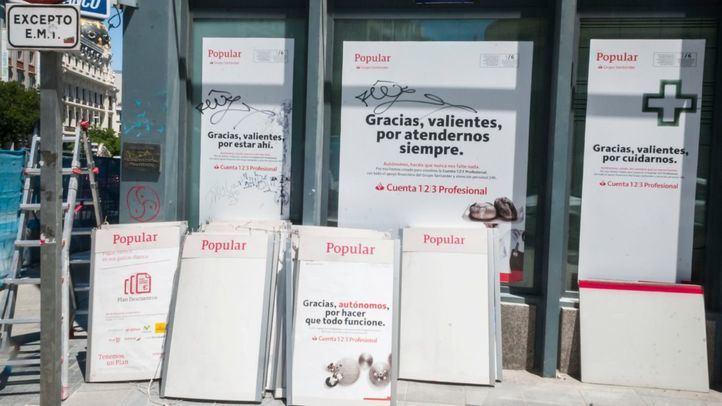 Santander inicia la integración de las oficinas de Banco Popular en Madrid