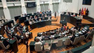 Pleno Constitutivo del Ayuntamiento de Madrid este sábado.