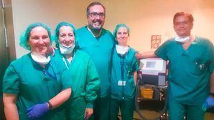 Equipo de Neumología del Gregorio Marañón que ha llevado a cabo la técnica.