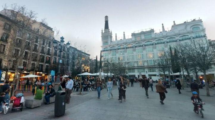 La Plaza de Santa Ana se despide de sus casillas
