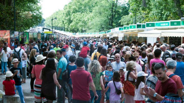 La Feria del Libro de Madrid bate récords en su última edición