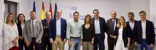 Reunión del nuevo equipo de gobierno municipal de Las Rozas.