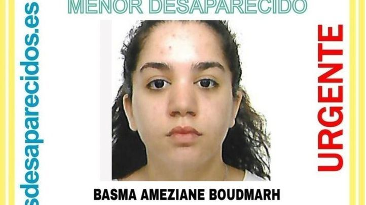 Desaparecida una niña de 15 años desde hace 19 días