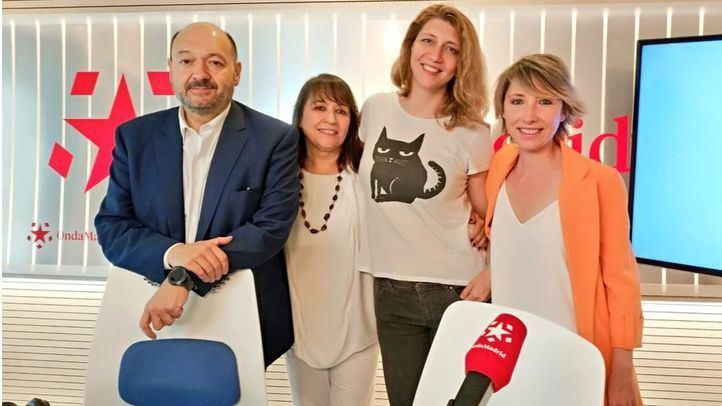 Las periodistas María Cano y Nuria Platón fueron las invitadas de este lunes en Com.Permiso