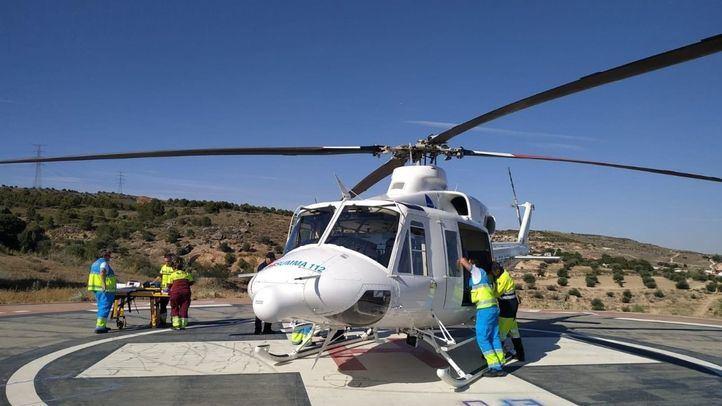 En estado crítico un bebé tras sufrir un ahogamiento en una piscina de Morata
