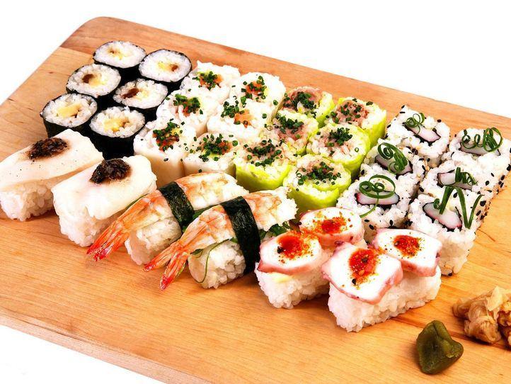 Sushi: el alimento de moda saludable y delicioso