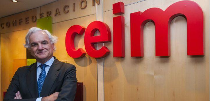 """Miguel Garrido, nuevo presidente de CEIM: """"Me gustaría que dentro de cuatro años los empresarios estén mejor vistos"""""""