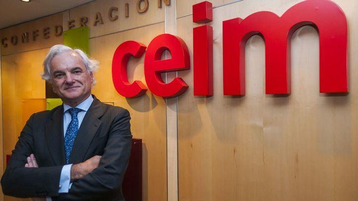 Miguel Garrido, nuevo presidente de CEIM.
