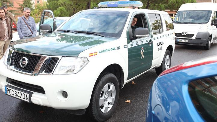 Foto de archivo de un coche de la Guardia Civil.