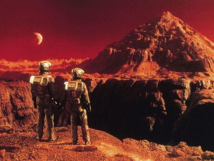 Fotogramas de la película 'Desafío Total'.