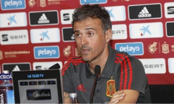 El entrenador asturiano Luis Enrique.