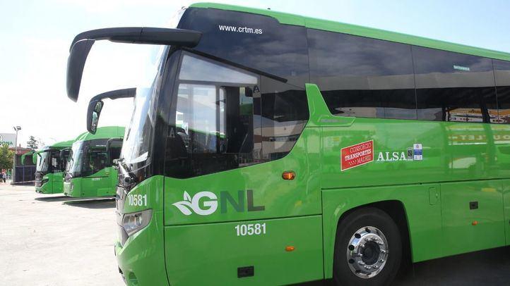 De los autobuses renovados, el 50 % utiliza sistemas de propulsión menos contaminantes, como el gas natural o tecnología híbrida.