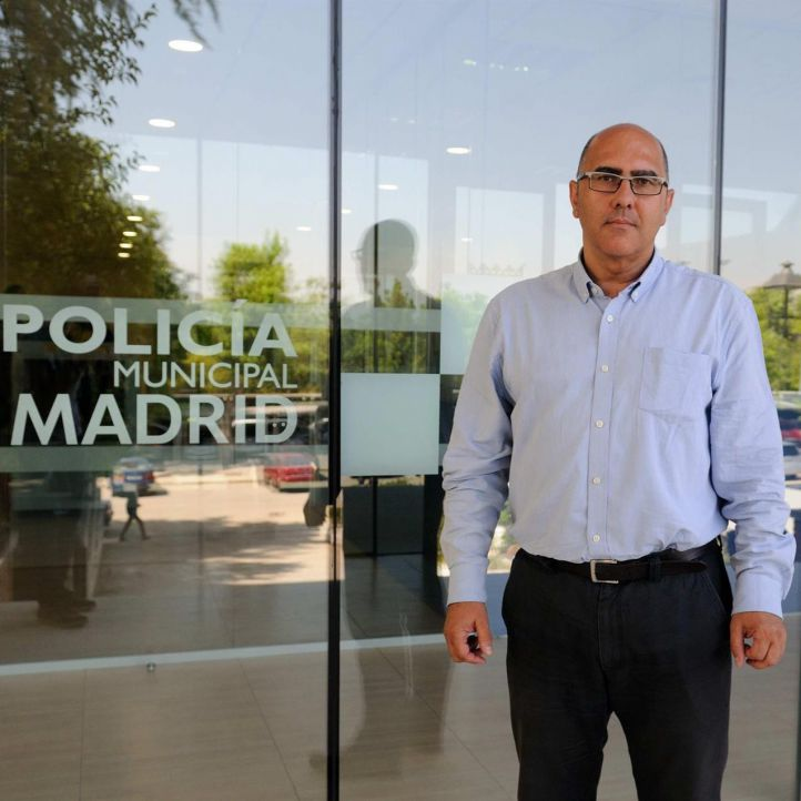 Andrés Serrano, ya ex director general de Policía Municipal.