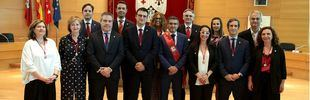 PSOE y Ciudadanos presentan el nuevo Gobierno municipal de Alcobendas