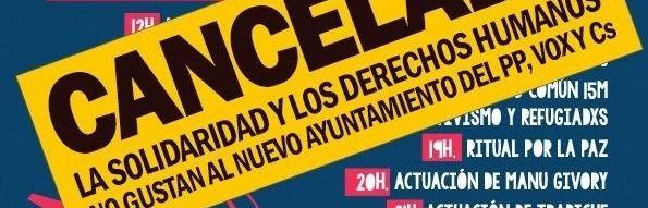 El Ayuntamiento cancela una jornada solidaria en La Gasolinera