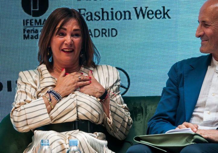 Charo Izquierdo abandona la dirección de la pasarela de la moda española