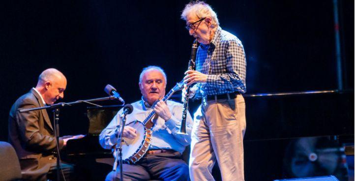 El mítico Woody Allen abre con éxito la serie de conciertos