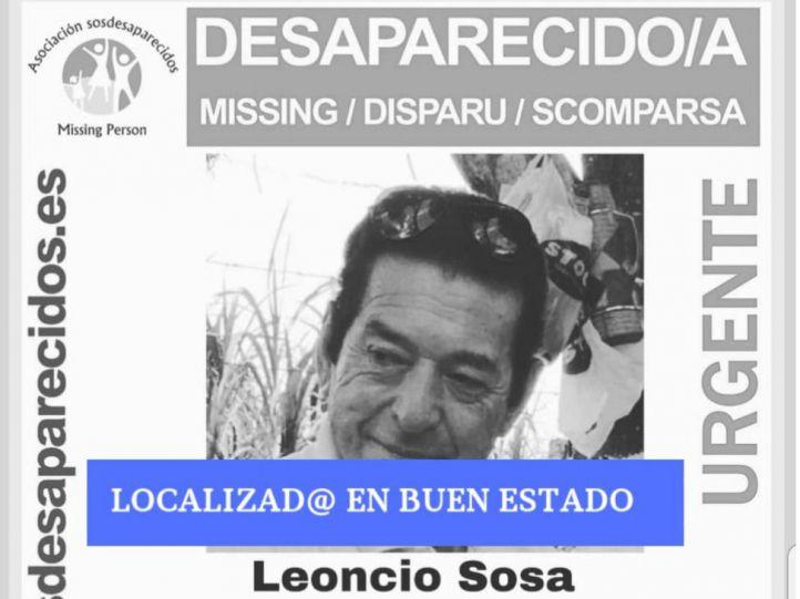 Localizado el argentino de 72 años desaparecido en Barajas