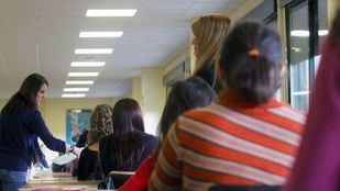 Oposiciones para maestros, en una foto de archivo