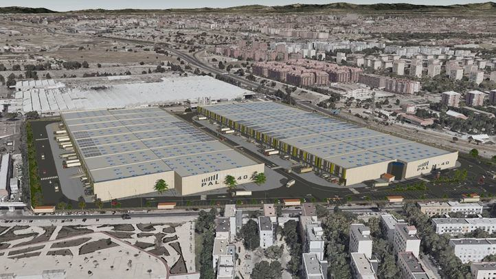 Los vecinos, en pie de guerra contra la mayor plataforma logística urbana de Madrid