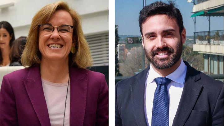 Puri Causapié (PSOE) y Sergio Brabezo (Ciudadanos), esta tarde en Com.Permiso.