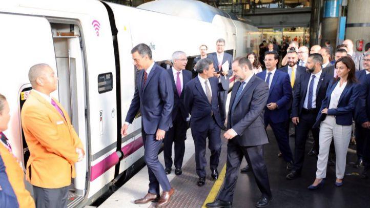 Viaje inaugural del AVE Madrid-Granada tras años de retrasos