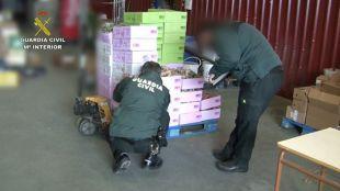 Operación contra el fraude alimentario.