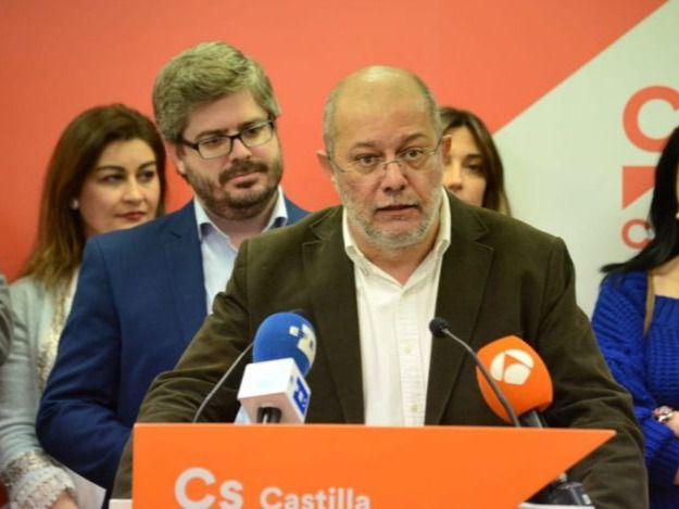 Francisco Igea, líder de Cs en Castilla y León.