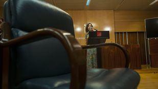 La candidata del PP a la Presidencia de la Comunidad de Madrid, Isabel Díaz Ayuso, en la rueda de prensa ofrecida para responder a las exigencias de Vox.