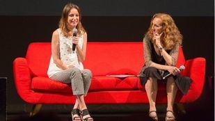 Andrea Levy y Carme Portaceli, presentando la temporada del Español