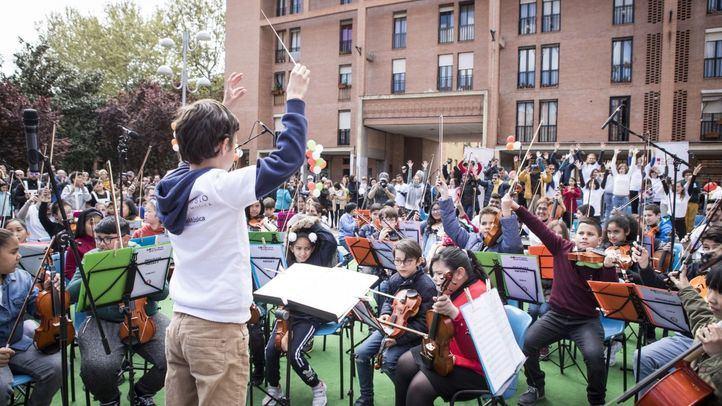 Un ejército de músicos lucha por la inclusión social